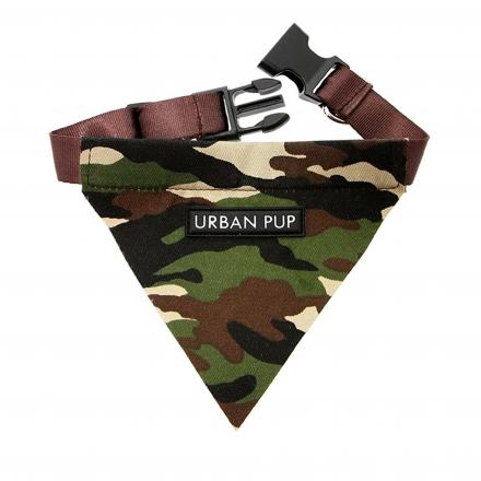 Urban Pup Bandana - Camouflage