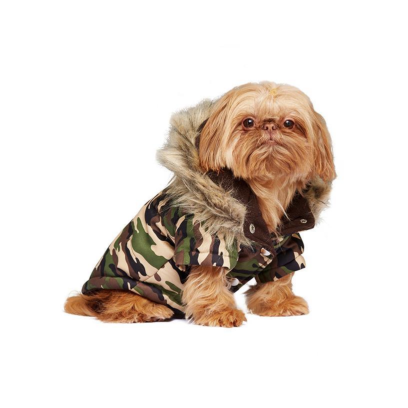 Camouflage Hundjacka -
