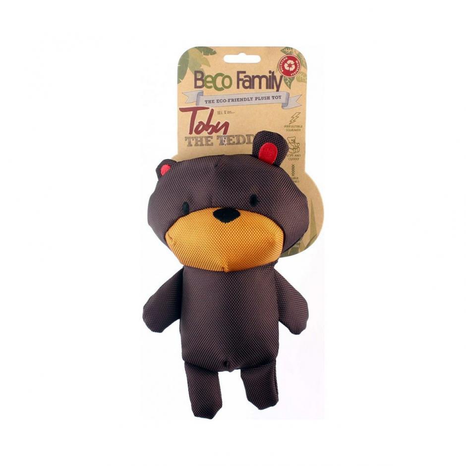 Beco Family Hundleksak - Teddybjörnen Toby (23 cm)
