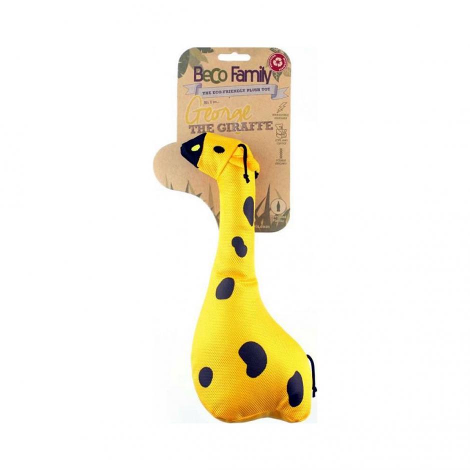 Beco Family Hundleksak - Giraffen George (26 cm)