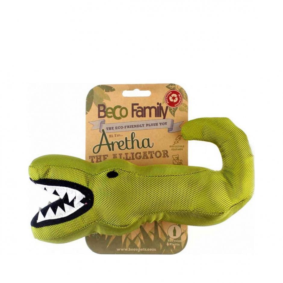 Beco Family Hundleksak - Alligatorn Aretha (24 cm)