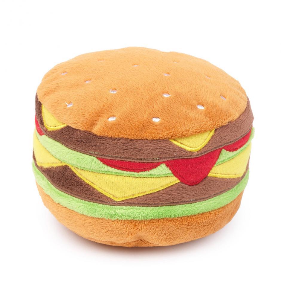 FuzzYard Plyschleksak - Hamburger