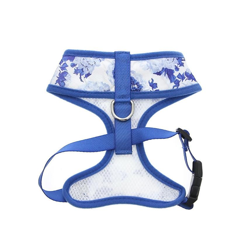 Urban Pup Harness - Blue Floral