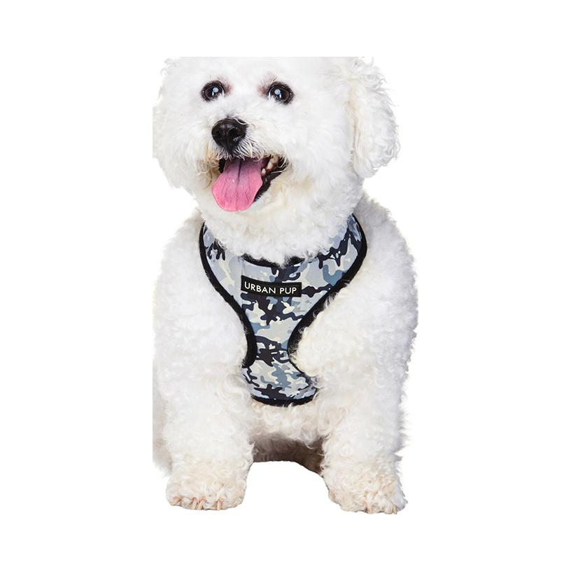 Urban Pup Harness - Black Camouflage
