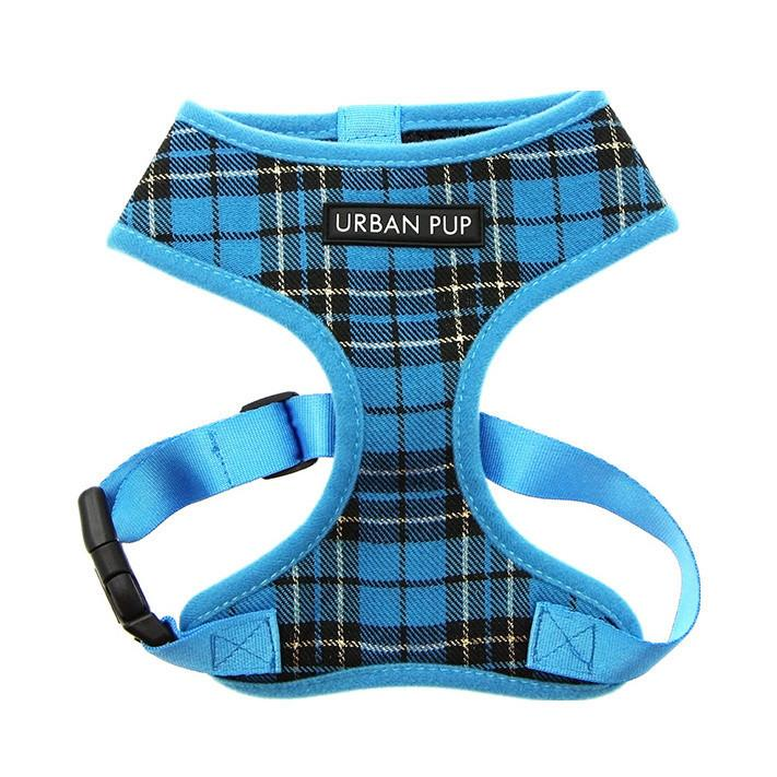 Urban Pup Harness - Blue Tartan