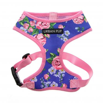 Urban Pup Harness - Floral Burst