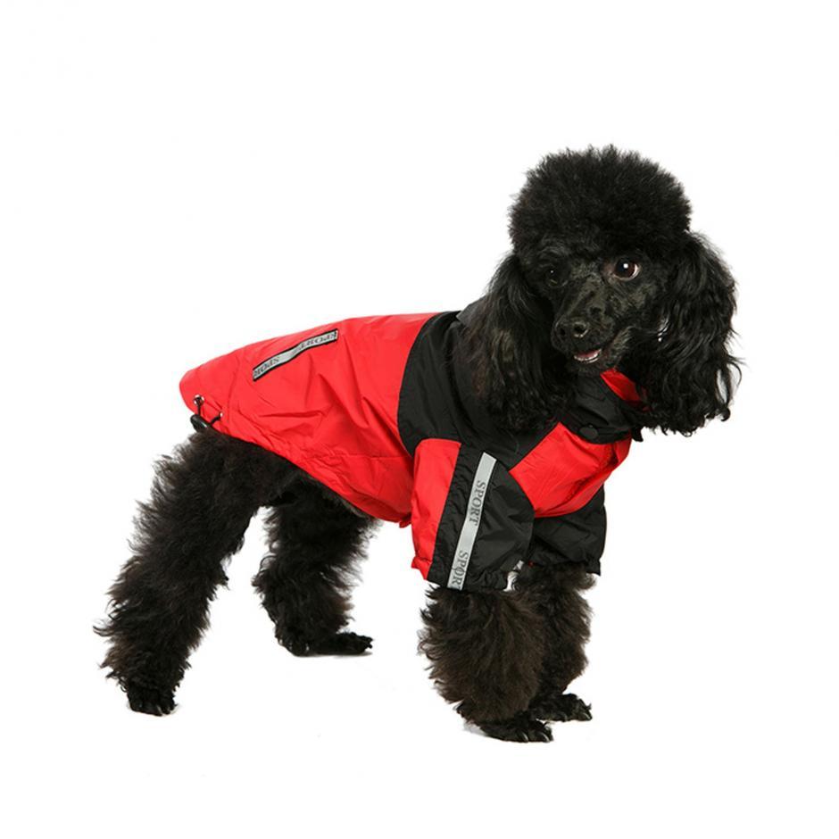 Urban Pup Regnjacka - Röd