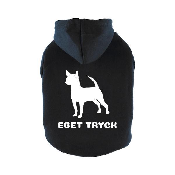 Designa Din Egen Hoodie Hundtröja - Svart