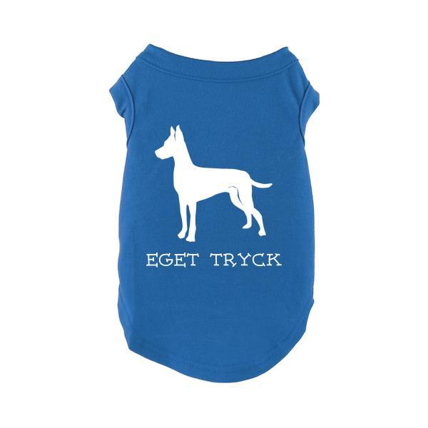 Designa Din Egen Hundtröja - Blå