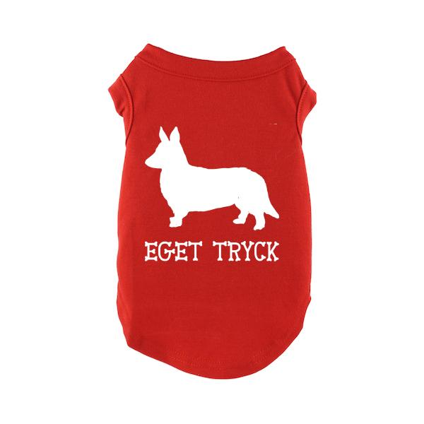 Designa Din Egen Hundtröja - Röd