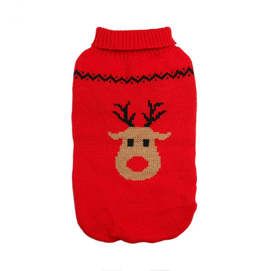 Stickad Jultröja - Rudolf