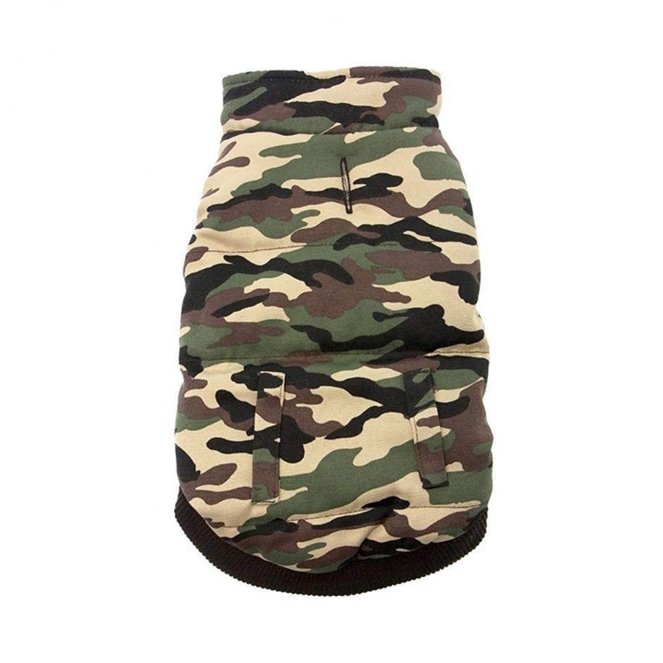 Camouflage Hundväst -