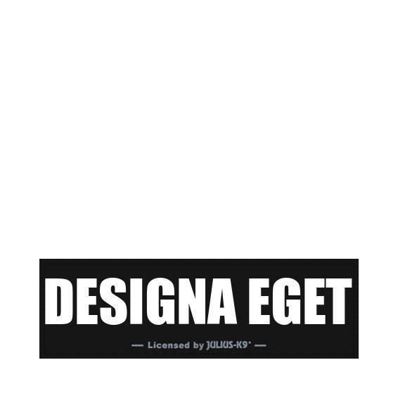 Designa Ditt Eget Kardborremärke - Svart