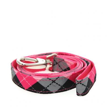 Urban Pup Koppel - Pink Argyle