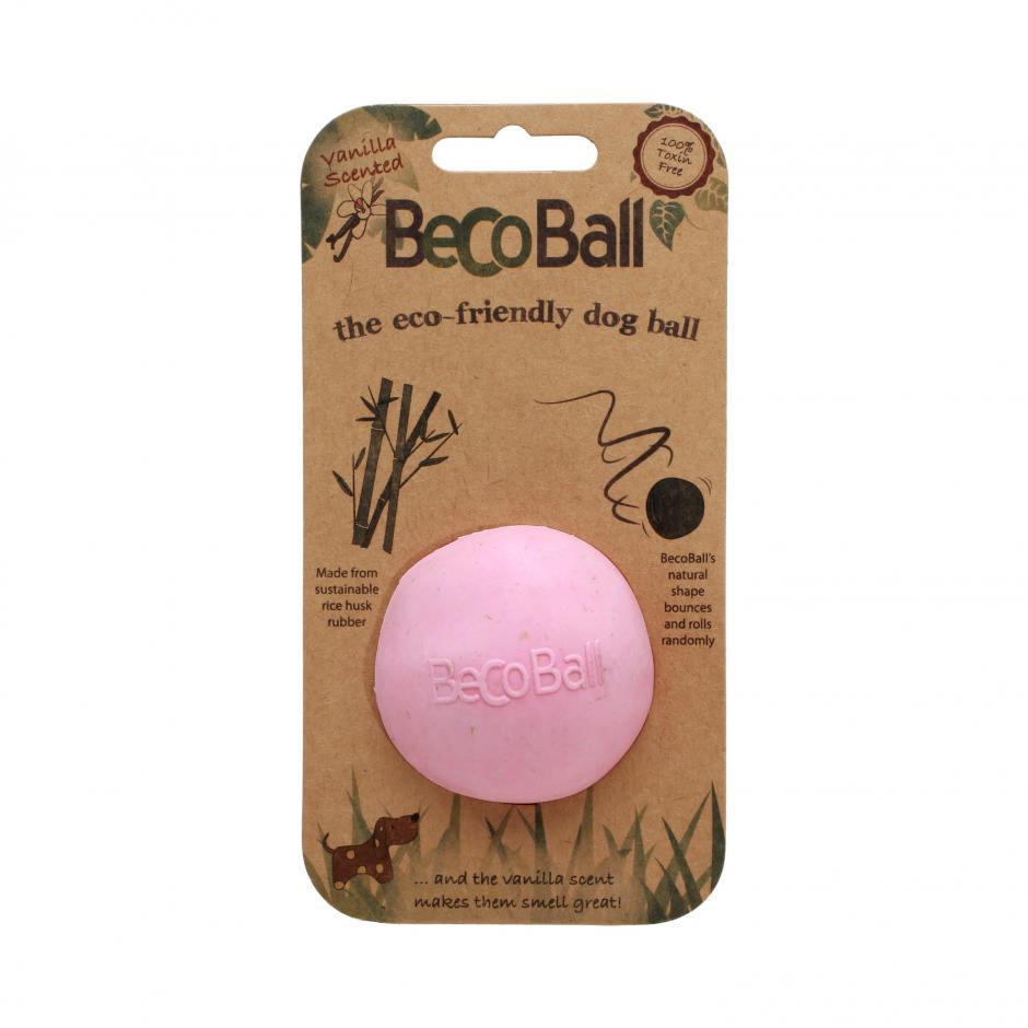 Beco Ball Hundleksak - Rosa